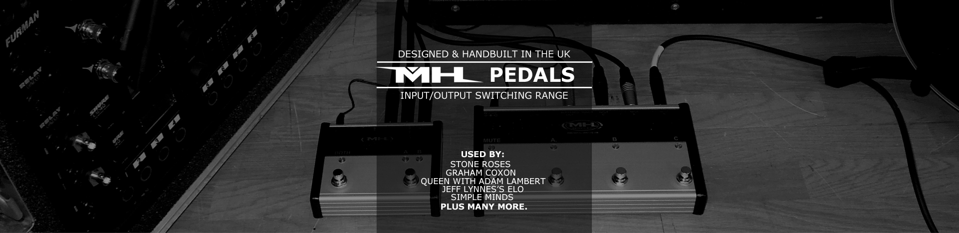 MH Pedals Banner